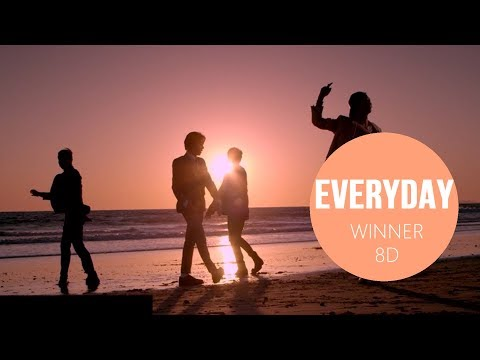 WINNER - EVERYDAY [8D USE HEADPHONES] 🎧