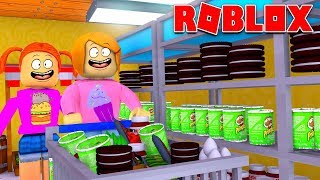 Roblox Bloxburg Grocery Shopping Routine!