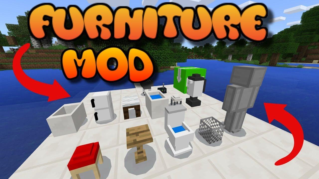 Furniture Mod Minecraft Map