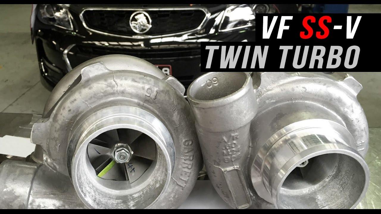 Twin turbo Street VF Holden