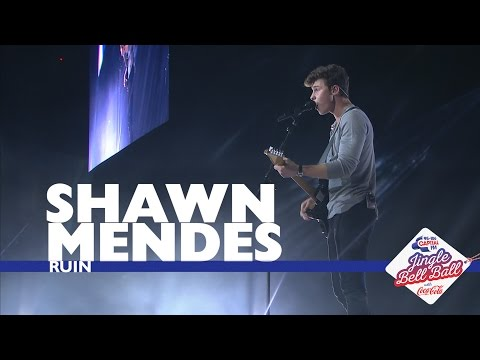Shawn Mendes - 'Ruin' (Live At Capital's Jingle Bell Ball 2016)