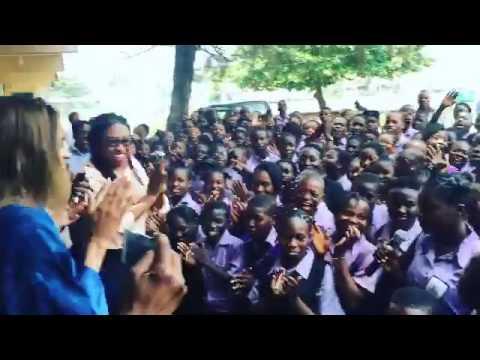 Ciara Visits Schools In Lagos State Nigeria - American Singer in Lagos