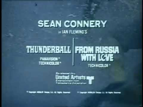Vintage Teaser 1965 - Thunderball & From Russia with Love