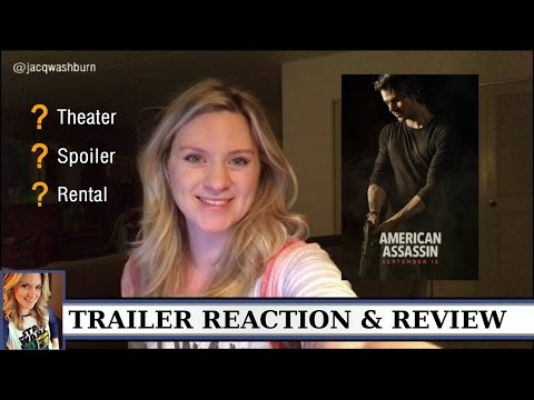 Thumbnail: The American Assassin - Trailer Reaction