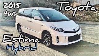 Обзор Toyota Estima Hybrid 2015 г. Один из ЛУЧШИХ Японских автомобилей!