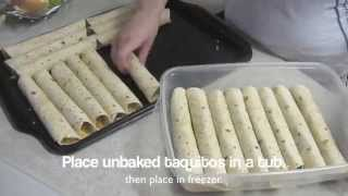 Homemade Baked Taquitos