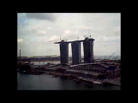 Marina Bay Sands Construction Sequence