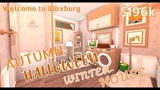 Roblox | Welcome to Bloxburg: Autumn Halloween Winter House | $196k