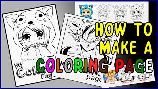 Tutorial: Coloring Pages in INKSCAPE   Como quitar el color a cualquier imagen   clipart to vector