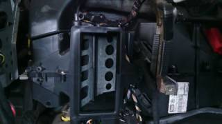 Ремонт на клапи на климатроника на Голф 4. Част 1