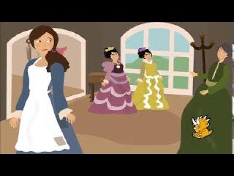 子供のためのスペイン語の本 - シンデレラ- Cinderella - 子供のためのスペイン語 - Dinolingo