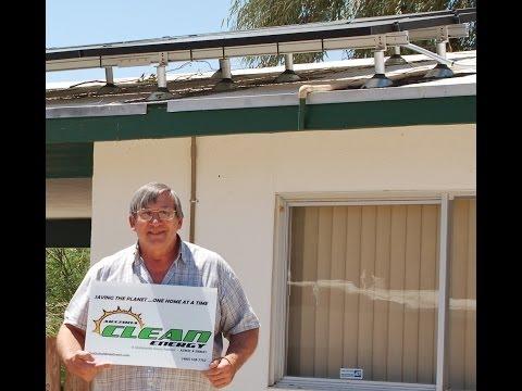Mr. Hadlock LOVES Arizona Clean Energy!