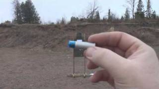 CCI .44 magnum / .44 special Pest Control Shotshells test at 15 feet and 8 feet