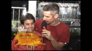 Entrevista Guillermo Bonetto (Los Cafres) en el Arte Joven 2010 - PelaGatos