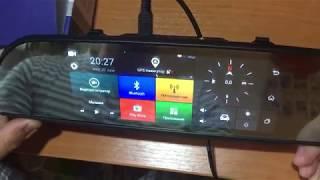 Видео обзор регистратора-зеркала Parkcity DVR HD 900