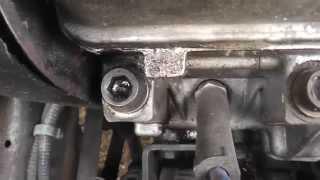 ВАЗ 2115-09-Течёт масло из двигателя ваз 2115-09