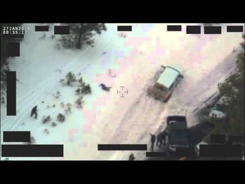 "Footage from the traffic stop where Robert ""LaVoy"" Finicum died"