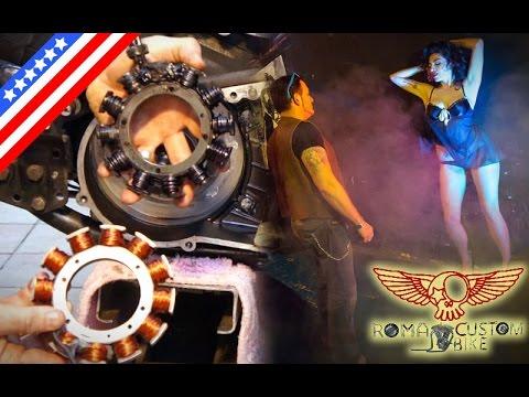 Harley Davidson rotor and stator diy repair replacement e21 Roma
