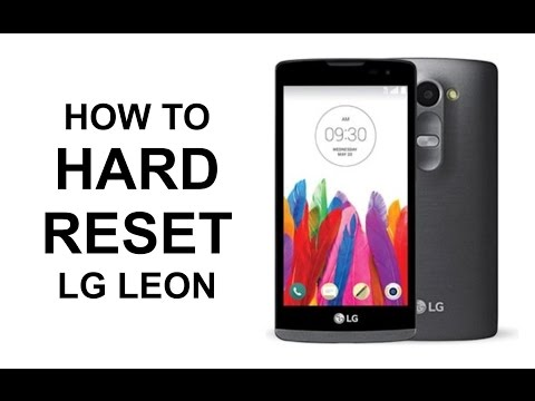 How To Hard Reset LG Leon LTE - Master Reset