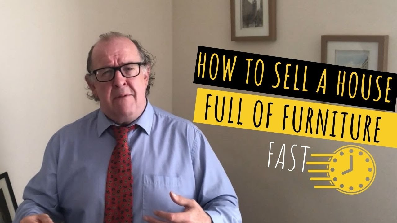 How to sell a house full of furniture fast