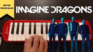 """Tutorial // Cómo tocar  """"Believer""""  de Imagine Dragons en tu Melódica"""