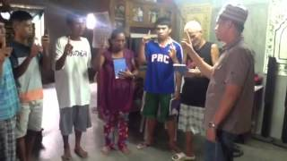 Video A FAMILY IN KORONADAL EMBRACED ISLAM AFTER LECTURE OF BRO.KHALID SANCHEZ. download MP3, 3GP, MP4, WEBM, AVI, FLV Mei 2018