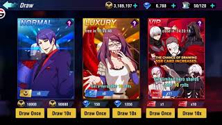 Tokyo Ghoul Dark War (Vip Summons) 4100 Diamonds 10 Tickets