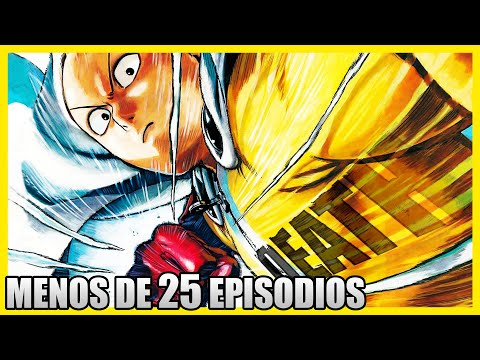 TOP 7: MEJORES Animes De ACCIÓN CORTOS (Menos De 25 Episodios)