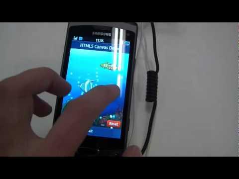 Альфа-версия Bada 2.0 на Samsung S8530 Wave II