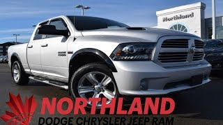 Walk Around 2015 RAM 1500 Sport | Northland Dodge | Auto Dealership in Prince George BC