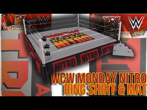 WWE Wicked Cool Toys Mattel Authentic Scale Ring WCW Nitro Ring Skirt Accessory
