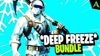 The new * Deep Freeze Bundle * in Fortnite..