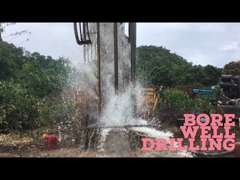 Bore Drilling Machine for deep well In Agribuzz Farm
