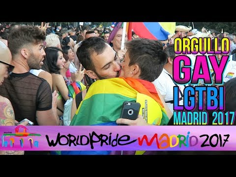 ORGULLO GAY LGTBI MADRID 2017 (Best World Pride Ever) - Curioso De Todo | edusanzmurillo