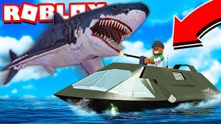 I bought the *NEW* STEALTH BOAT in Roblox SharkBite!