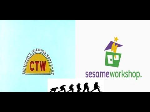 Logo Evolution: Children's Television Workshop/Sesame Workshop (1968-present)