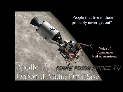 "The Worlds Most Interesting Conversation Between 2 Astronauts. ""People"" on the Moon."