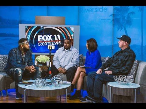 OG Cuicide x AD Interview w/ Christine Devine of Fox News11 (Facebook Live)