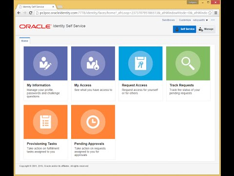 Oracle Identity Management 11gR2 PS3 (11.1.2.3) QuickTour