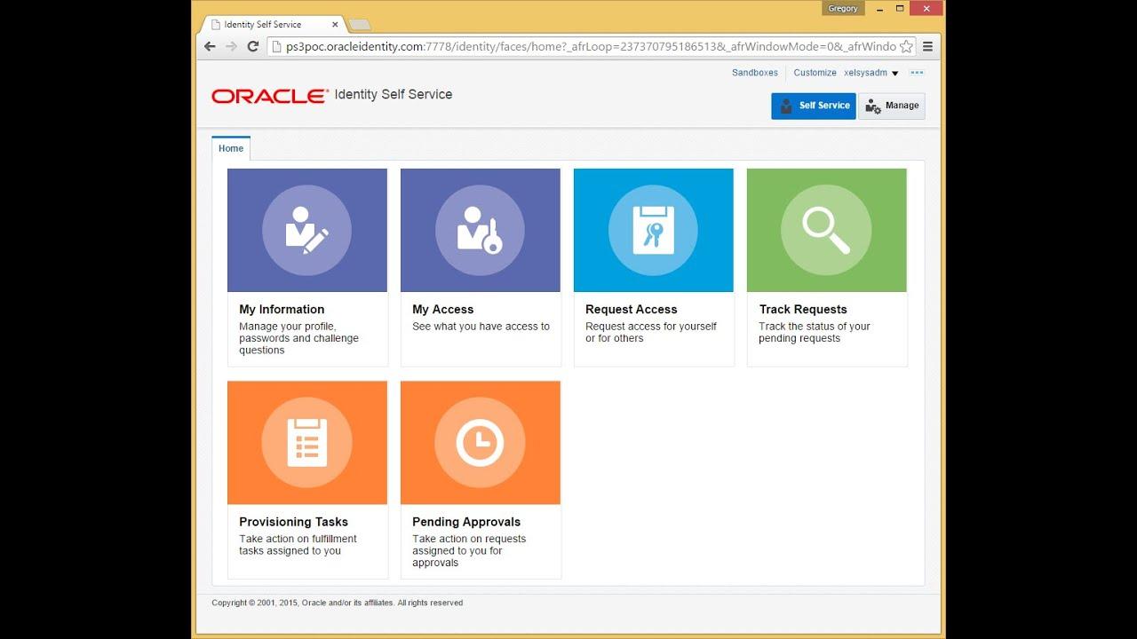 Oracle Identity Management 11gR2 PS3 (11 1 2 3) QuickTour