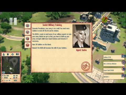 Let's Play Tropico 4 Part 37: Building an Army |