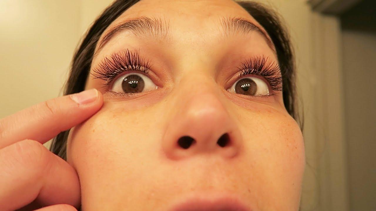 My Eyelashes Are Falling Out Youtube