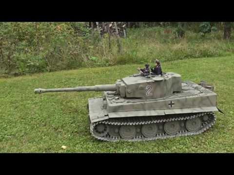 1/6 Scale RC Tiger 1 Tank