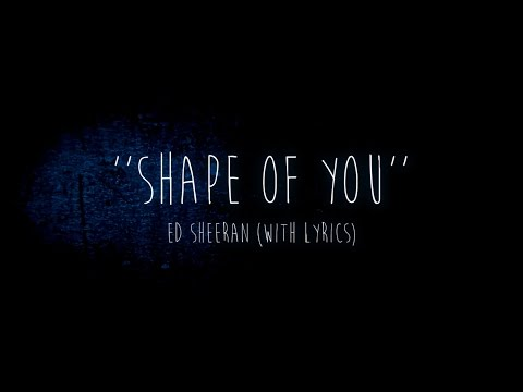 ► Ed Sheeran - Shape Of You (cover) (with lyrics)
