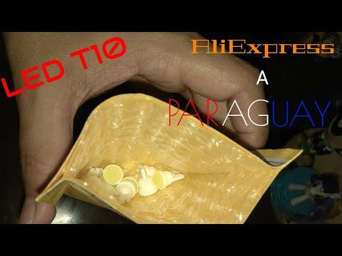 Compras de internet #6 foco led T10 de AliExpress a Paraguay