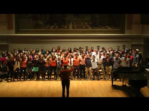 UVA University Singers   The Good Old Song