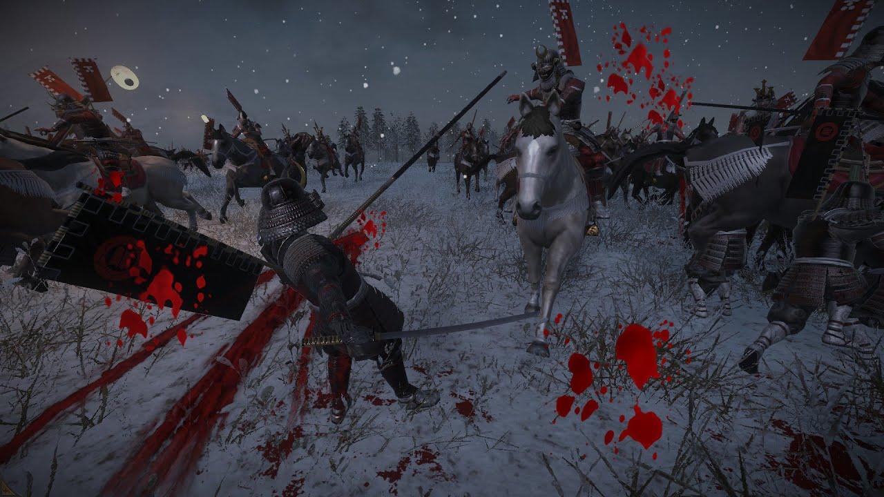 Total War Shogun 2 Fall Of The Samurai Wallpaper Total War Shogun 2 Multiplayer Battle Night Falls On The