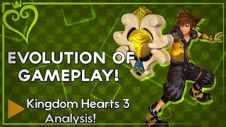 Kingdom Hearts 3 All Trailer Analysis - Evolution of the Combat