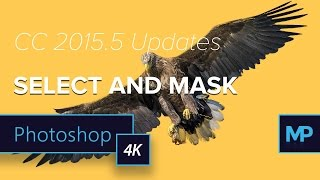New Select and Mask (Replaces Refine Edge) in Photoshop | CC 2015.5 Update Release (4K)