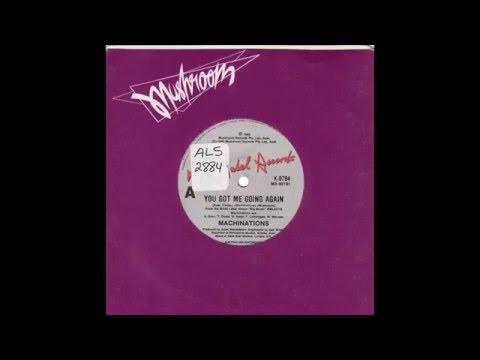 "Machinations – ""You Got Me Going Again"" (Australia White Label) 1985"